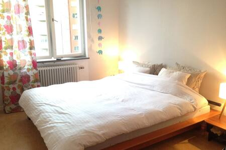 Beautiful room 7 min to Stockholm City - 索爾納(Solna)