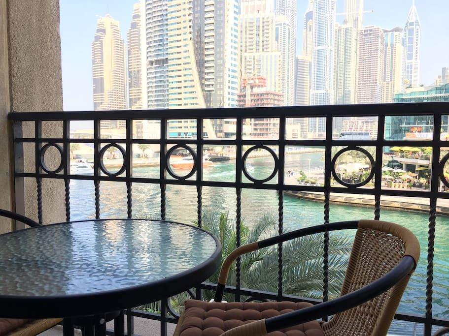 Amazing view fom your room balcony