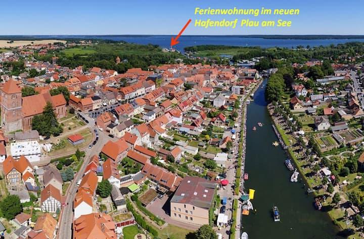 Ferienwohnung im Hafendorf Plau am See