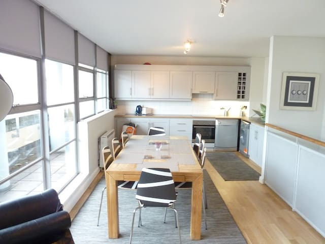 Double Room in Temple Bar Penthouse - Dublin - Lejlighed