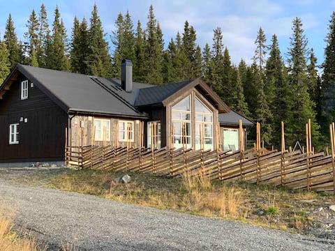 Moderne sommerhus på Nordseter/Sjusjøen/Lillehammer