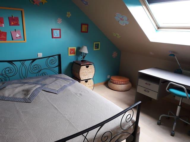 Chambre privée dans maison individuelle à Bétheny