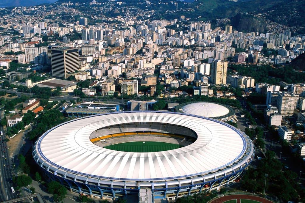 Maracanã stadium neighbourhood