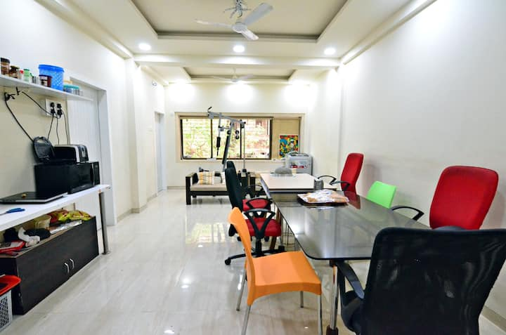 Bharat Building 2 with Terrace Lounge |Irla, Juhu|