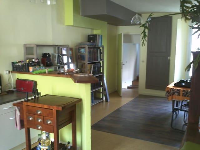 jolie maison centre ville Etampes - Étampes - Casa adossada