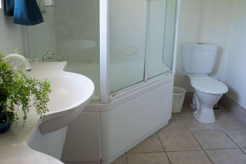 Bath/Shower & Toilet