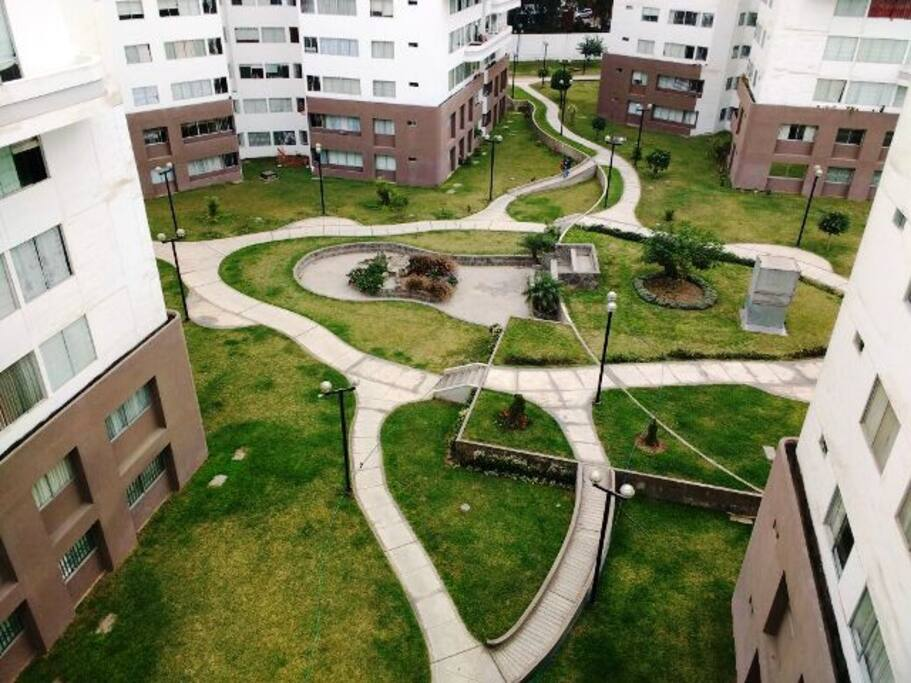 Áreas verdes / green area