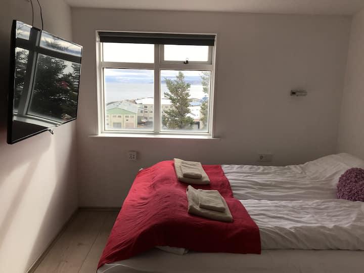 Cozy Single Room at Hotel Finna - Holmavik