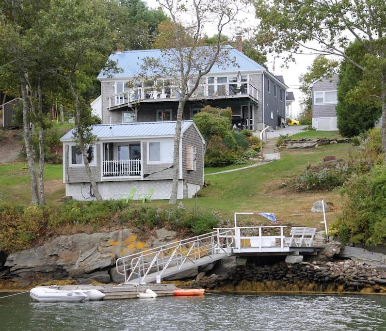 Cozy Modern Apartment Close To Town Walk Everywhere This: Top 100 Airbnb Rentals 2017 In Boothbay Harbor, Maine