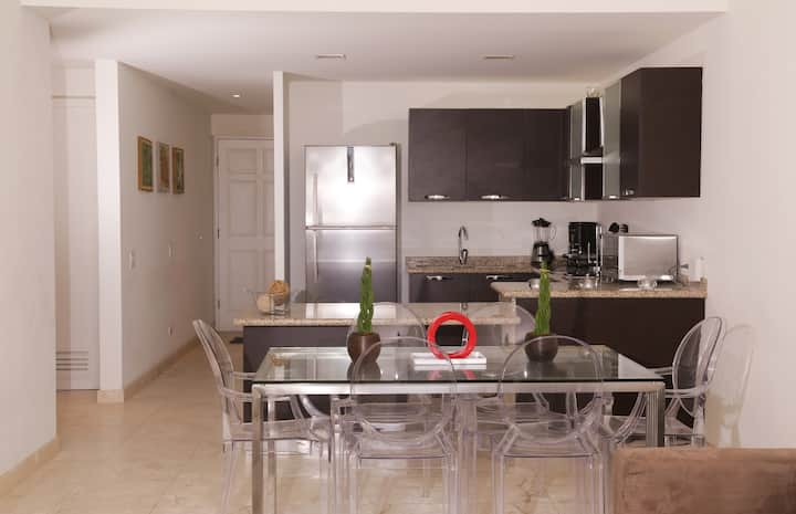Sunset Res Comfortable & modern 2BR at Eagle Beach