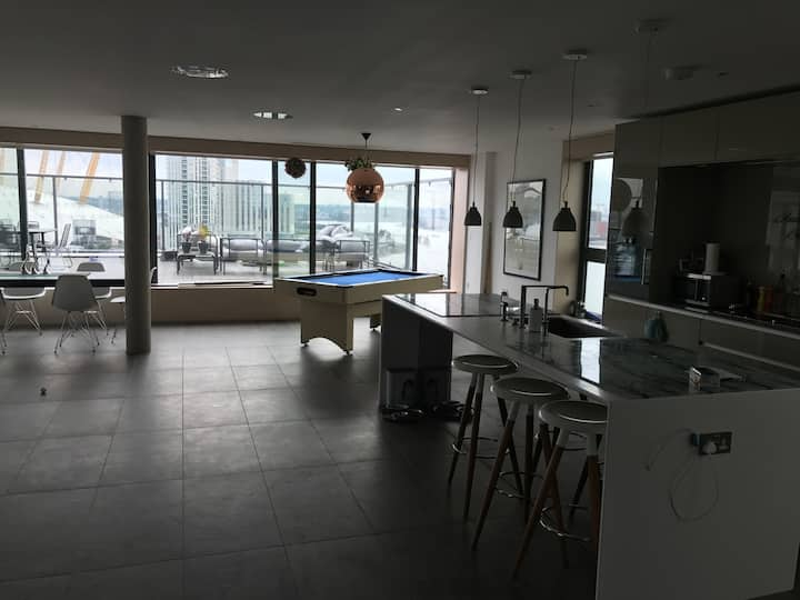 River view penthouse