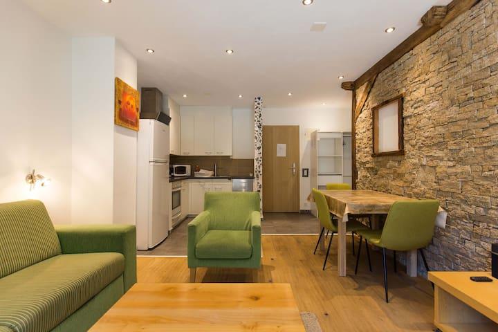 Apartment Theodul Central, rustic 2room apartment