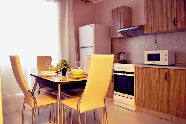 Отличная 2-х комнатная квартира в центре города!