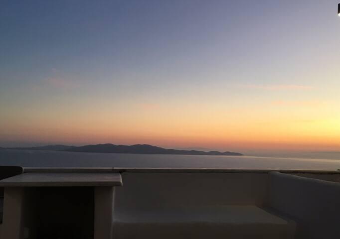 Maison cycladique Design avec breathtaking view