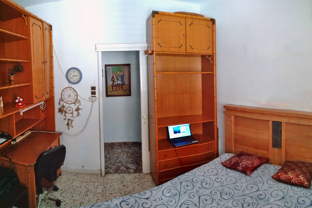 Bedroom panorama 3