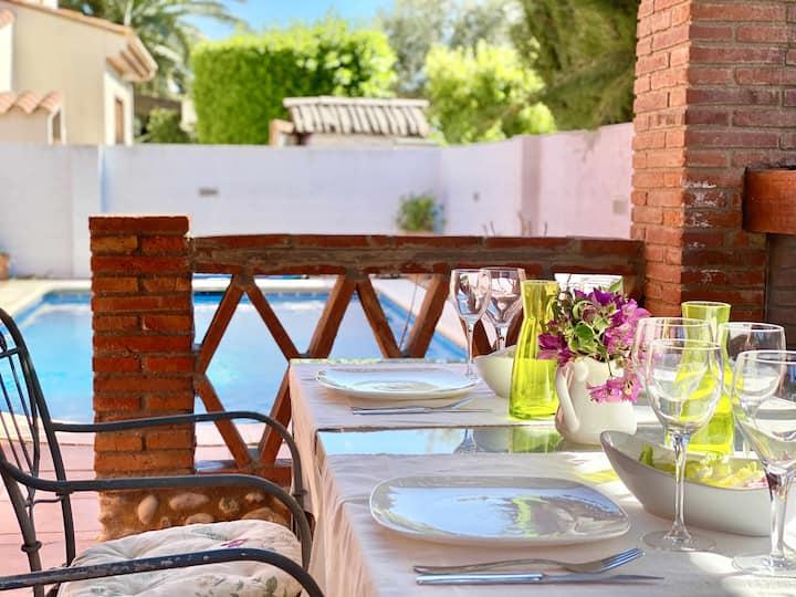 Chalet con piscina en Sant Pere Pescador