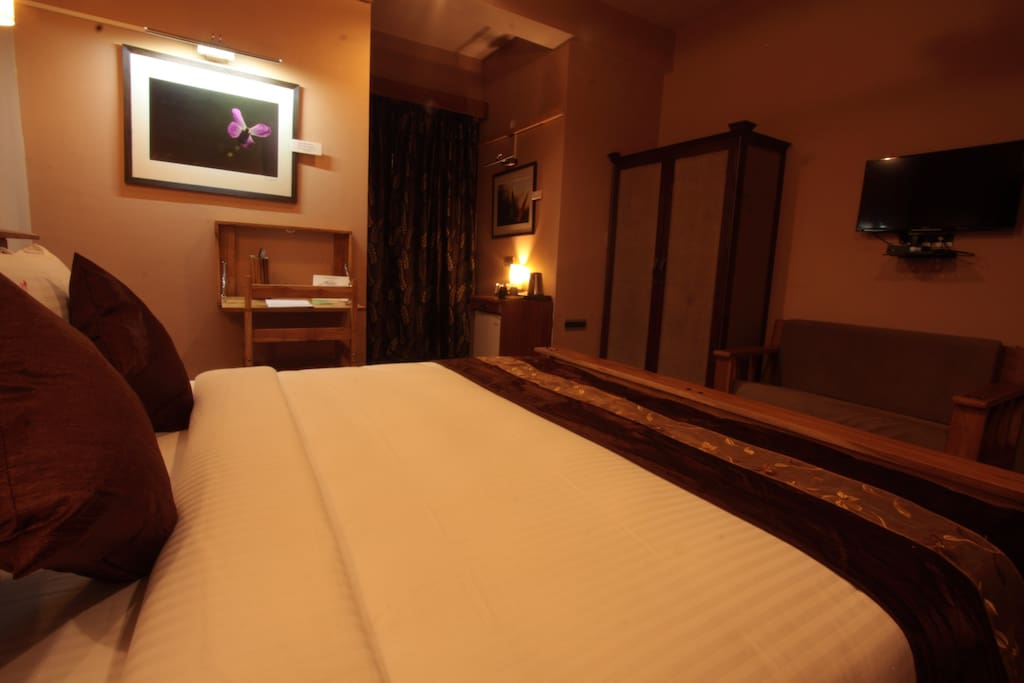All modern amenities offered in the room