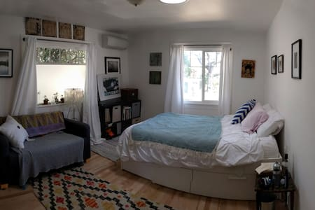 Friendly Sunlit Bedroom