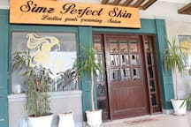 Get your style done from a professional salon. At a 2min walk from my place.
