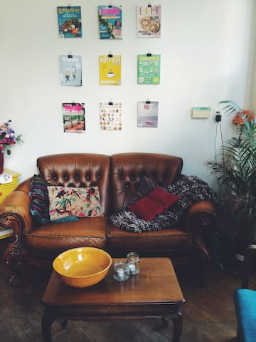 Cute appartement with patio - Amsterdam - Wohnung