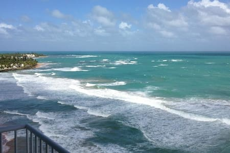 19th FLOOR BEACHFRONT (CORNER APT) @ SANDY HILLS - Luquillo - Condominium