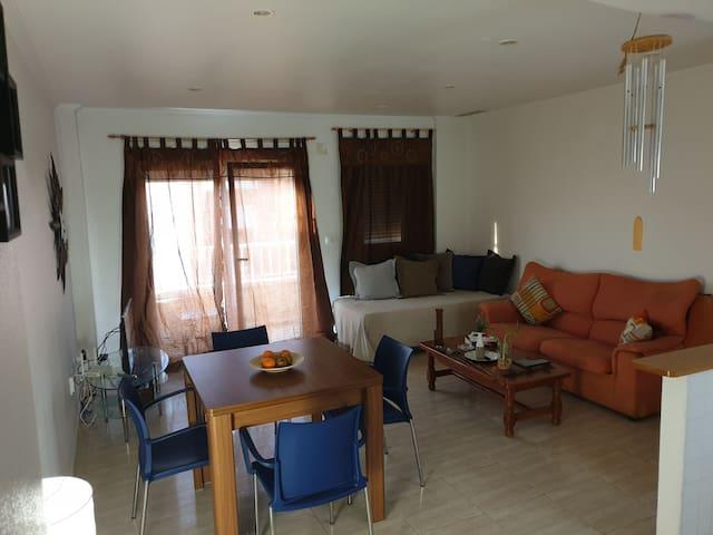 Excelente apartamento entero cerca de la playa!
