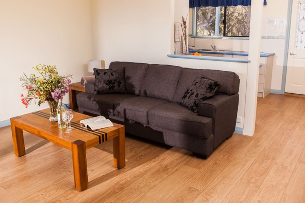 Quality furnishings throughout