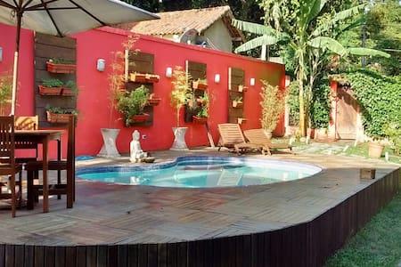 Quarto com varanda, natureza e muito  conforto! - Rio de Janeiro - Rumah