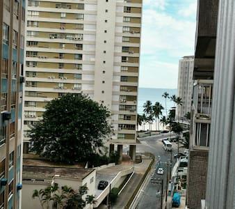 Apto 100 m da Praia Pitangueiras - Guarujá - Leilighet