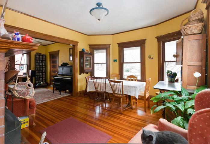 Cozy attic room in West Hartford