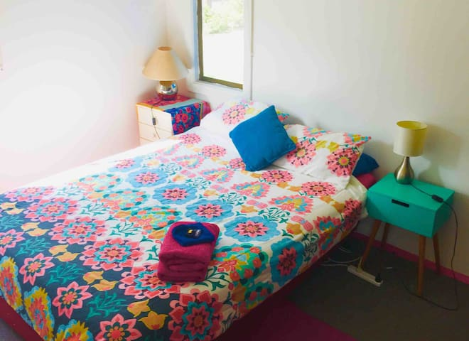 Perfect room for your comfort in a colourful house