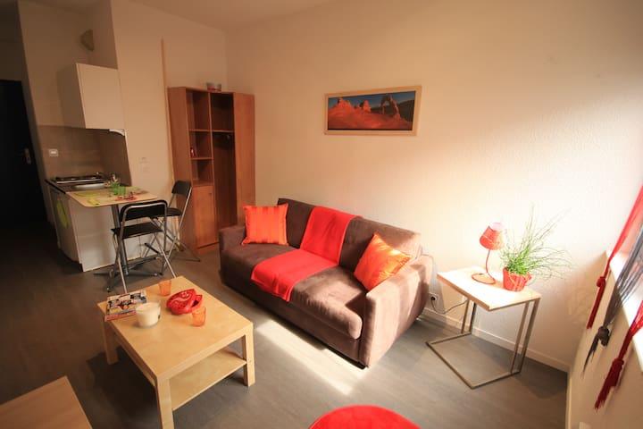 Studio Gare Saint Jean - Bordeaux - Apartamento