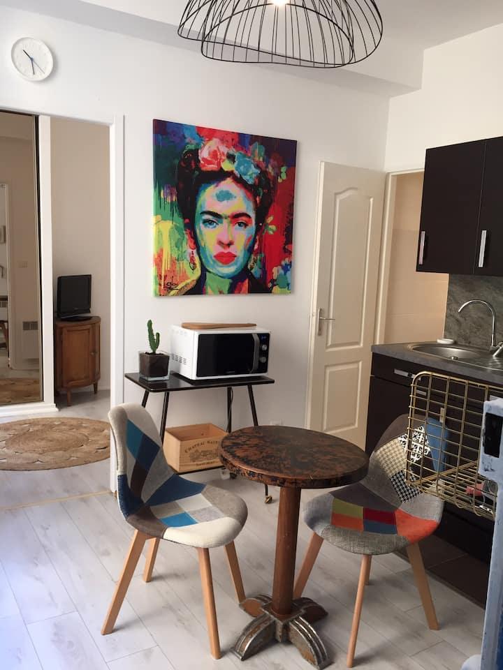 Studio tout confort quartier château de Pau