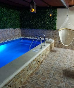 2 bedroom house and small pool with Jacuzzi - Cancun - Dům