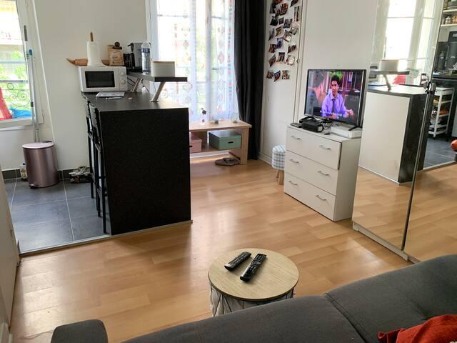Un studio de 20m2 situé à Ternes (75017)