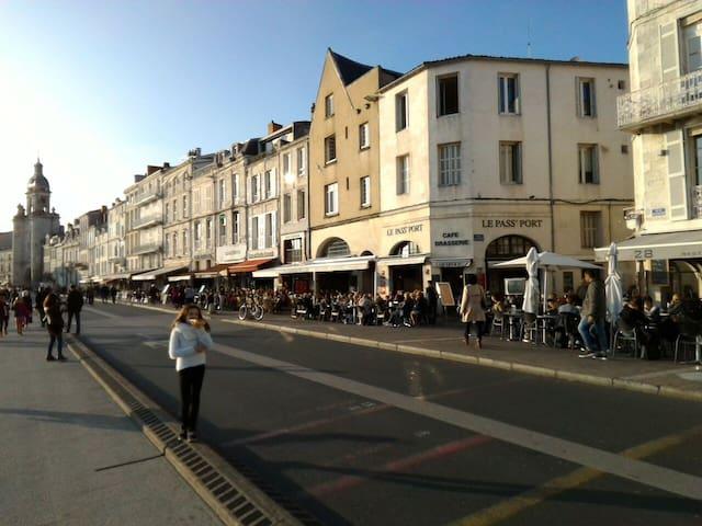Studio Vieux Port de La Rochelle avec WiFi - La Rochelle - Apartemen
