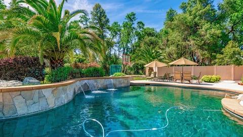 Bela propriedade rural em Bethel com piscina incrível