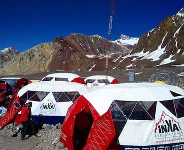 Alojamiento en el corazón de los Andes!