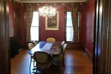 Common Area - Dining Room (Additional Chairs Available)