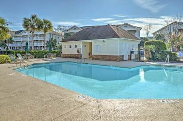 2BR Myrtle Beach Condo w/Community Pool! - North Myrtle Beach - Villa