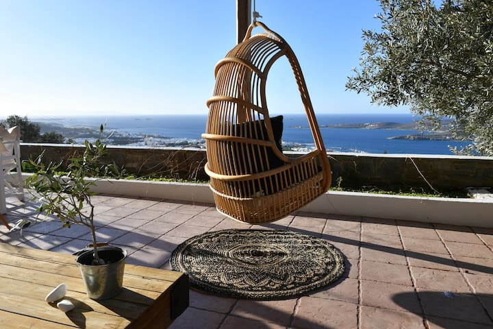 Parikia Paros seaview Villa