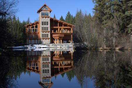 Honeymoon Suite in the lodge