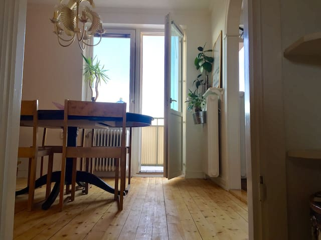 Cool apartment in city center with a view - Östersund