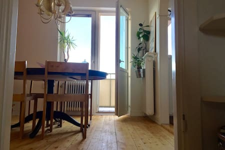Cool apartment in city center with a view - Östersund - Apartament