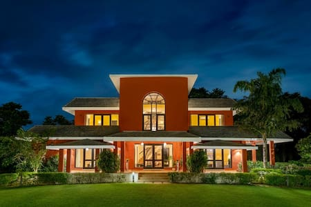 SangeetVilas 4-bedroom farmhouse with private pool
