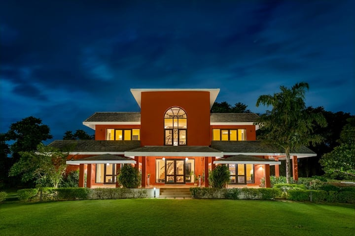 SangeetVilas 4-bedroom villa with awesome pool