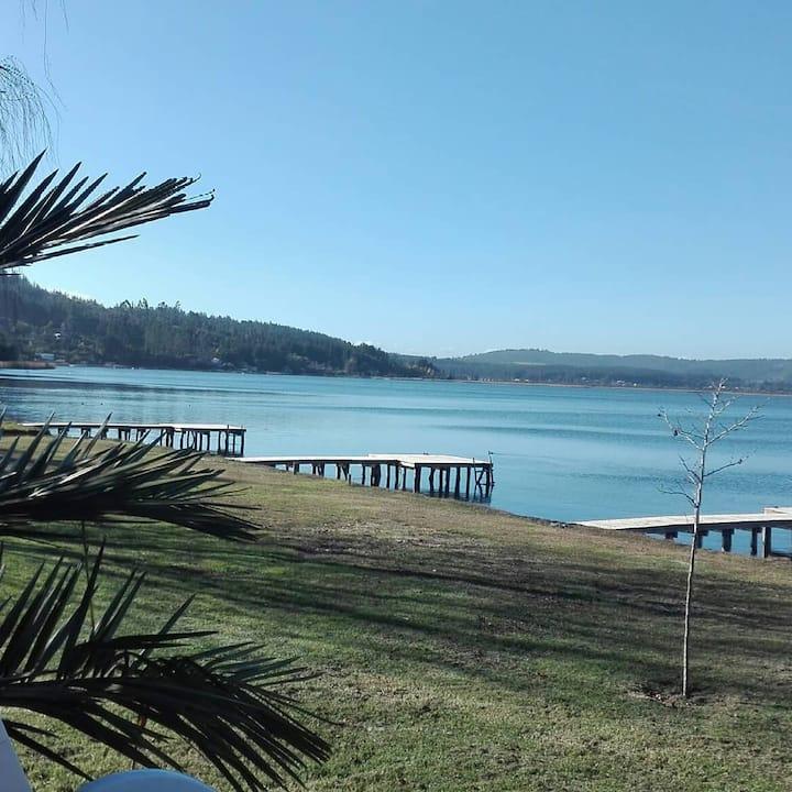 Cabaña Higenizada y  Sanitizada Orilla del Lago