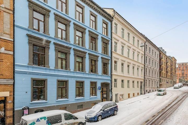 Studio apartment in the heart of Oslo