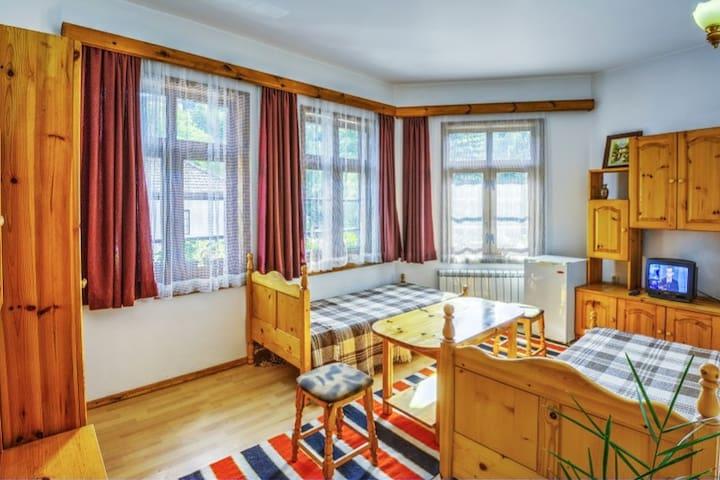 Shiroka Laka Apartment, Mountain view, 4 pax, B&B