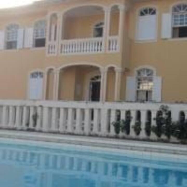 Vila Afrodite praia e piscina